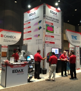 EDAX booth M&M 2014