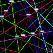 figure 6 - AlTi3 TEM simulation
