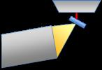 figure 6 - t-EBSD geometry