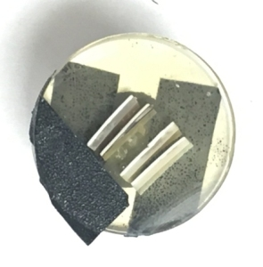 Figure 3. Piece of a Nautilus shell.