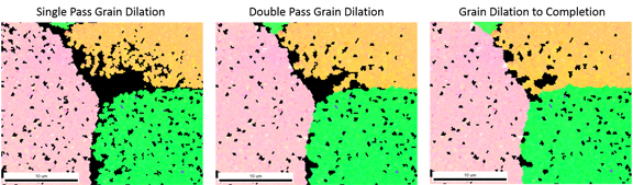 Figure 8: Grain Dilation.